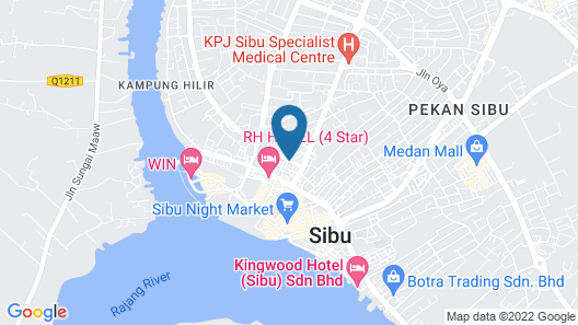 OYO 90055 Mansion Inn Map