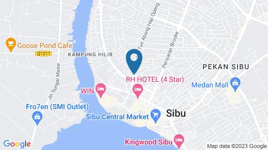 OYO 90105 Towermas Hotel Map