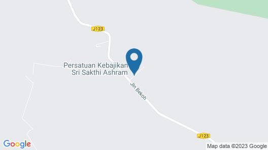 Persatuan Kebajikan Sri Sakthi Ashram - Hostel Map
