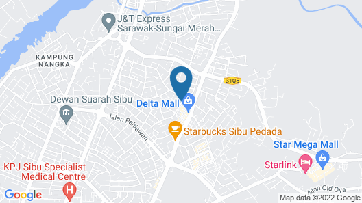 OYO 90190 Sibu Homestay2u Map