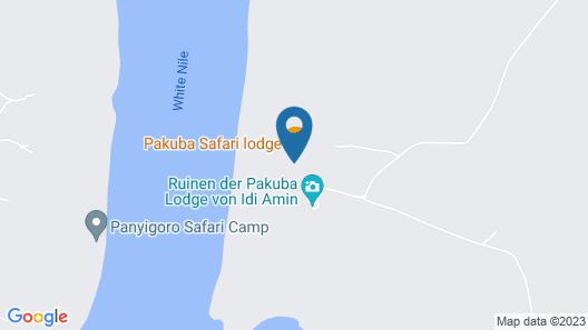 Pakuba Safari Lodge Map