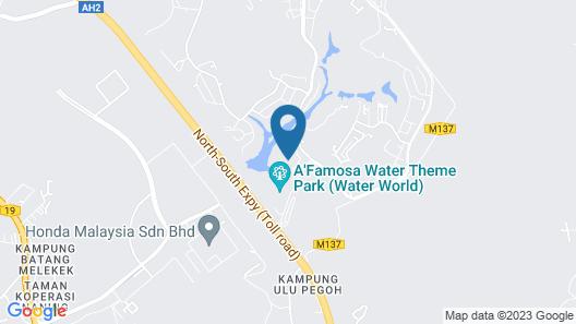 D'Faro @ A'Famosa Resort Villa by BeeStay Map