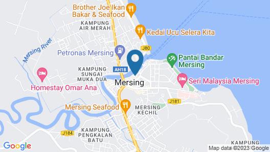 Muara Inn Hotel Map
