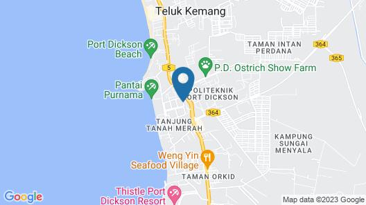 Rose Condo Cocobay Beach Resort Map