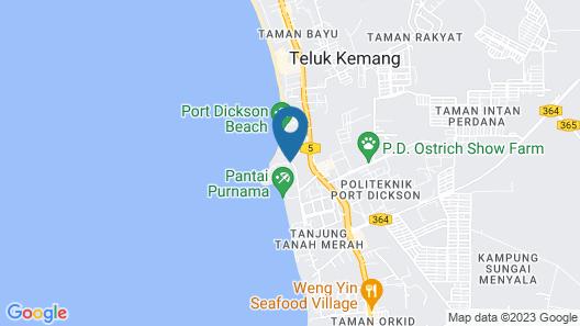 Seri Bulan Condominium Map