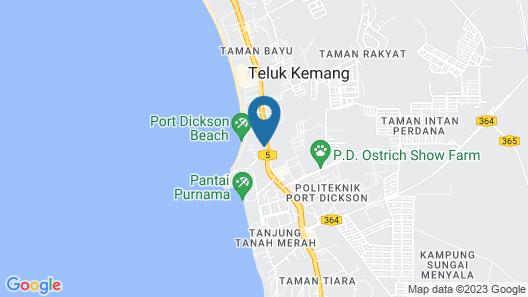 AnCasa by Ambassadors Suite Map