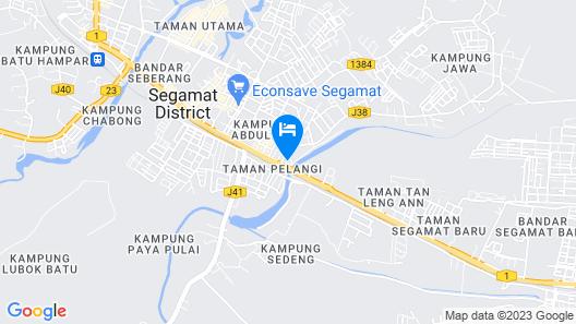 OYO 1114 Neo Pegasus Hotel Map