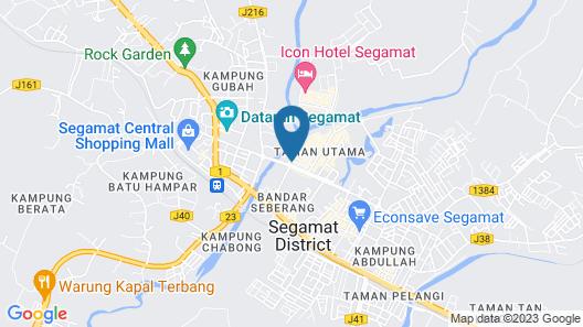 ID Hotel Segamat Map