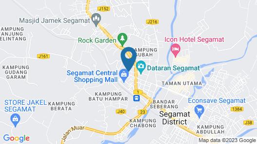 Koptown Hotel Segamat Map