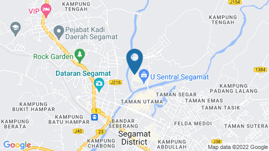 Icon Hotel Segamat Map