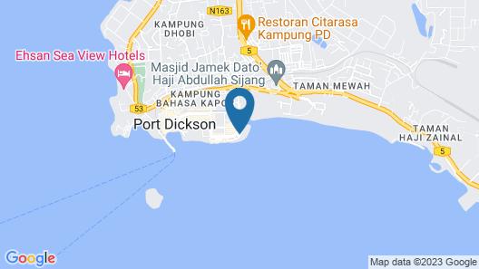 Bayfront Hotel Map