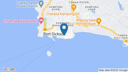 D'wharf Residence @ PD Waterfront Family Deluxe Suite by AirPlan Map