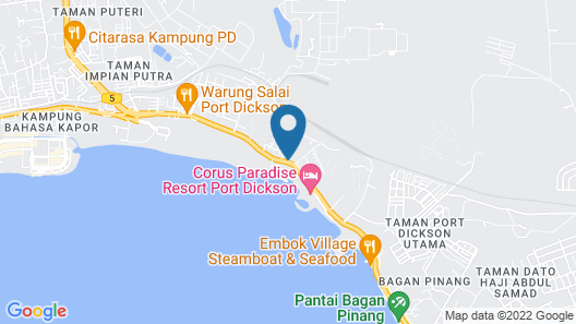 Paradise Lagoon Apartment Map