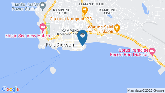 D'Wharf Hotel & Serviced Residence Map