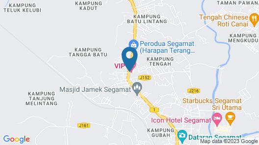 VIP Hotel Segamat Map