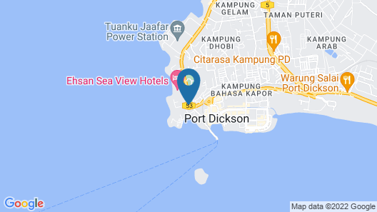 WaterFront Boutique Hotel Map