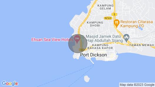 Beach House Port Dickson Map