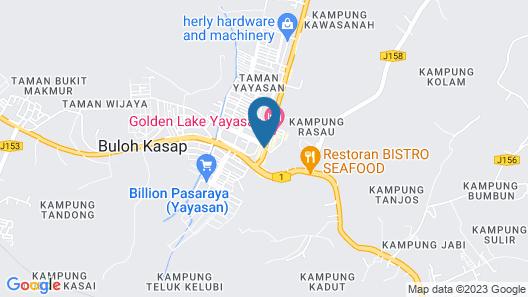 ID Hotel Yayasan Map