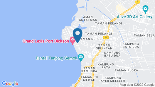 Lexis Port Dickson Map