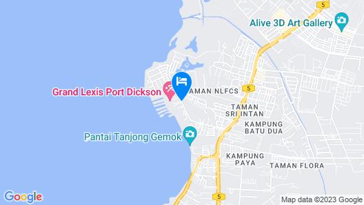 Lexis Port Dickson Map