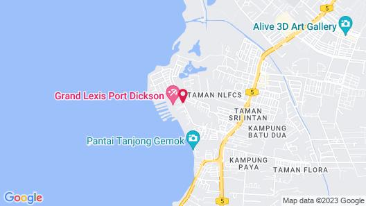 Grand Lexis Port Dickson Map