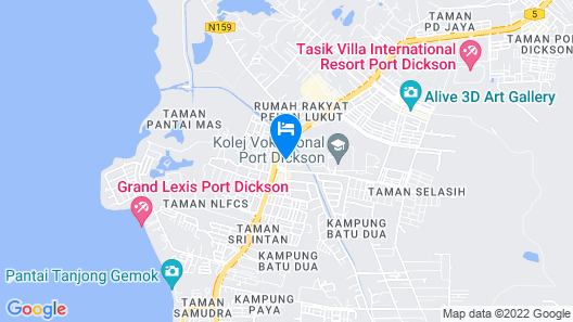 My Family Hotel Map