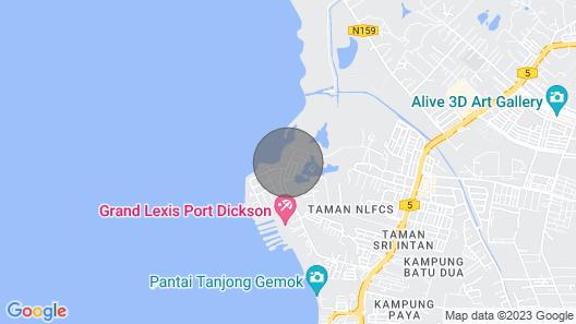 Ombak Villa Port Dickson - Luxury Seaside Villa Map