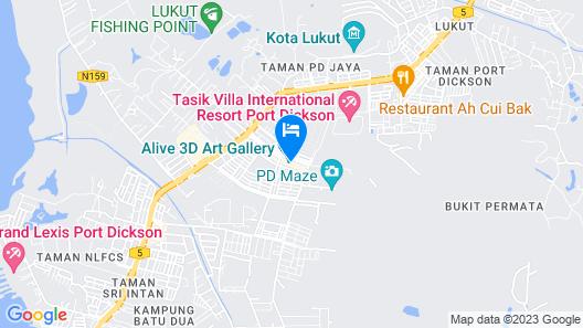 W.G Hotel Map