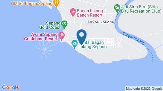 Seri Bayu Resort Map
