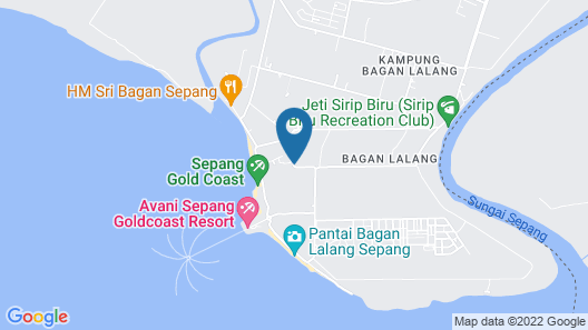 Seri Malaysia Bagan Lalang Map