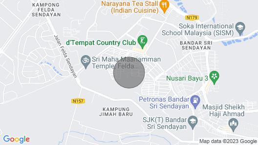 Raja Residence 4r4b Guest House Near D'tempat Country Club Map