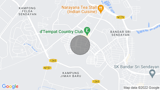 A Place Neighbouring Port Dickson Map