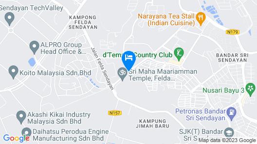 d'Sora Boutique Business Hotel Map