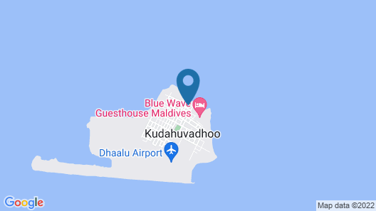 Dhaalu Inn Kudahuvadhoo by Atoll Hotels Map