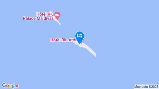 RIU Palace Maldivas - All Inclusive Map