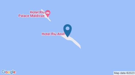 RIU Atoll All inclusive Map