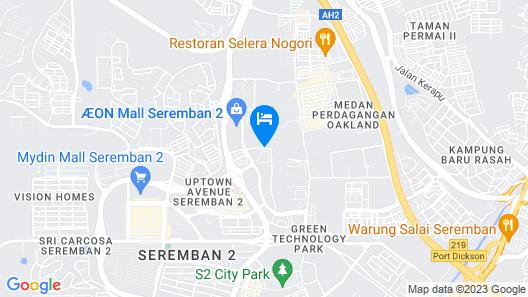 Sutera Hotel Map