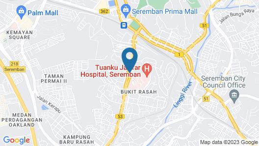 Hotel Rasah Seremban Map