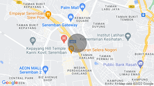 Seremban Town Cozy Homestay with UNIFI Map