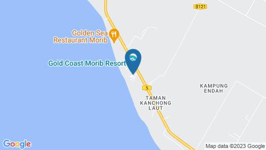 Gold Coast Marib Comfy Studio Map