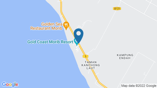Gold Coast Morib International Resort Map