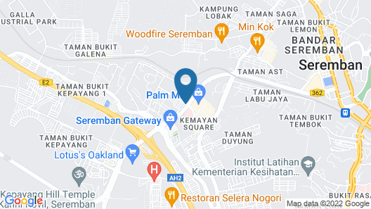 Time Hotel Seremban Map