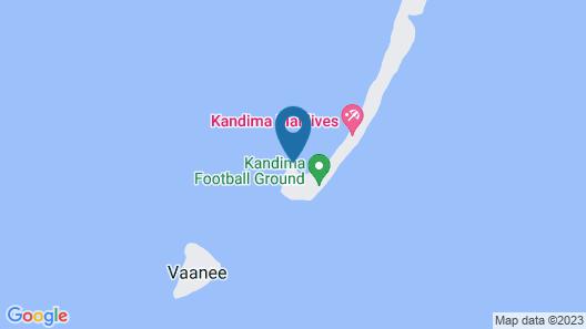 Kandima Maldives Map