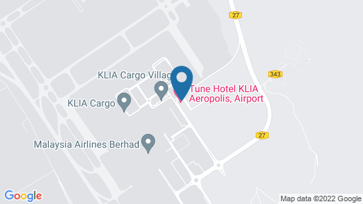 Tune Hotel KLIA Aeropolis (Airport Hotel) Map