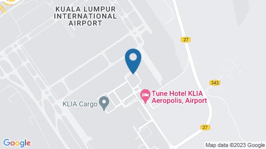 Capsule Transit KLIA 2 Map