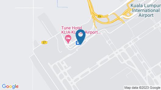 Aerotel Kuala Lumpur (Airport Hotel), gateway@klia2 Map