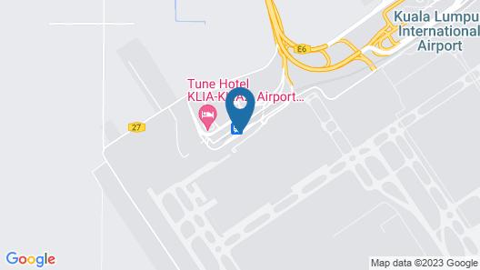 Plaza Premium Lounge KLIA 2 Map