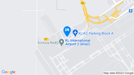 Tune Hotel KLIA-KLIA2, Airport Transit Hotel Map