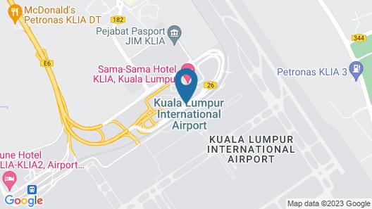Plaza Premium Lounge KLIA - Wellness Spa Map