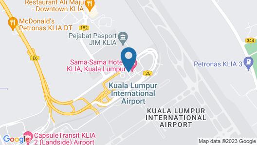 Sama-Sama Hotel, KL International Airport Map